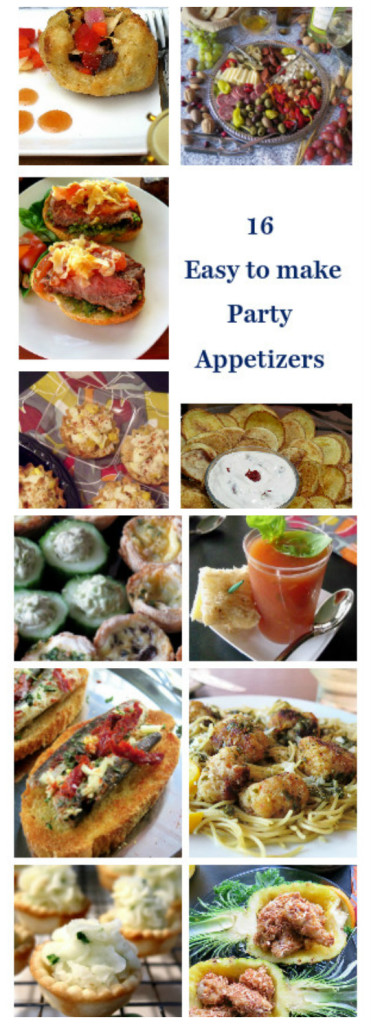 16 easy appetizers