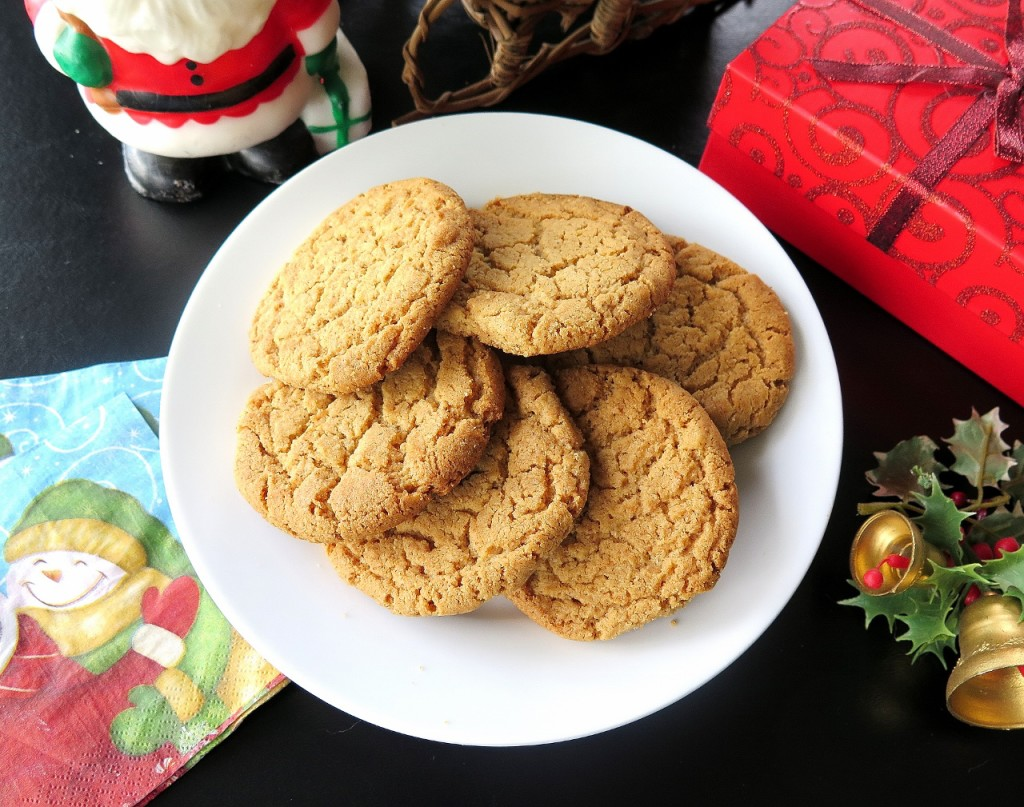 Almond Butter Cookies Christmascookies