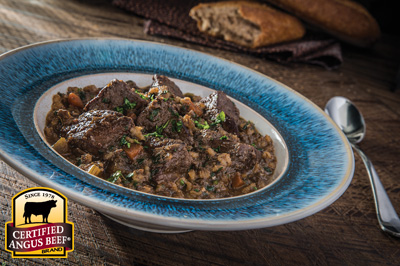 Beef Stew with Barley #bestbeef