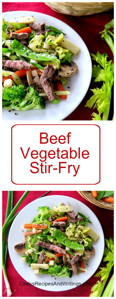 Beef Vegetable Stir-Fry