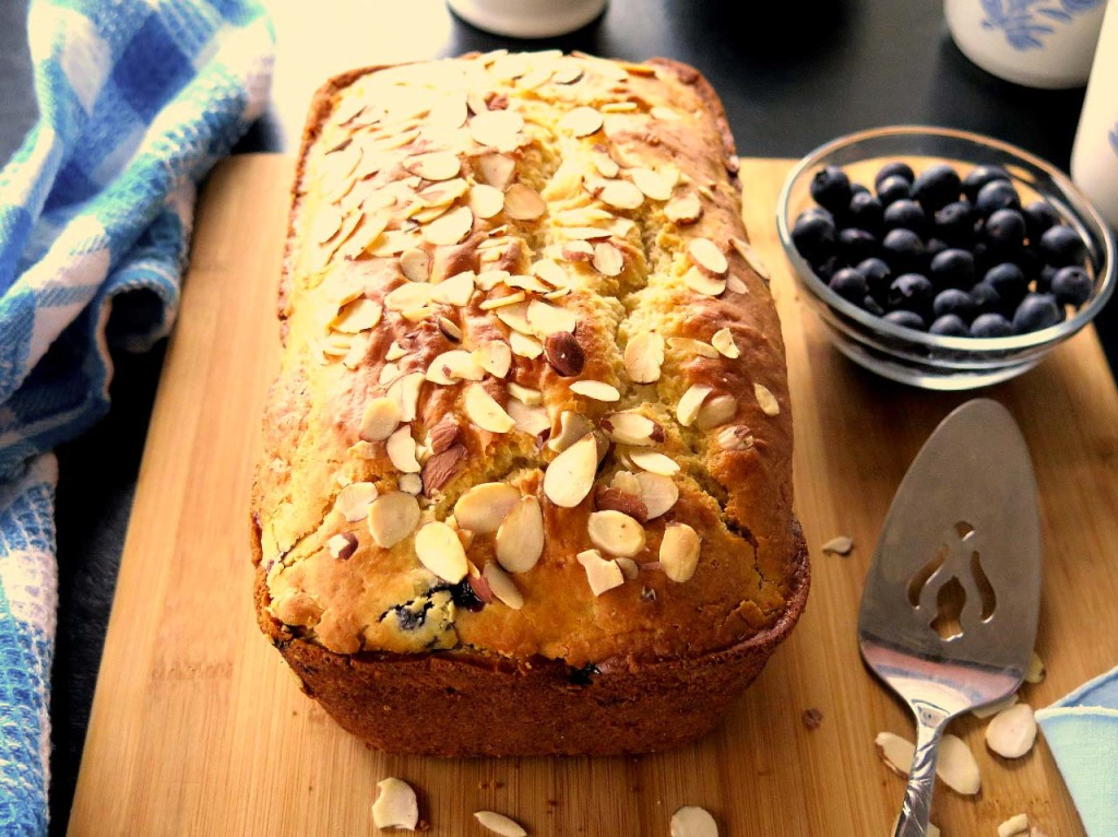Blueberry Almond Bread