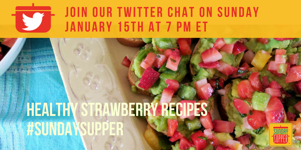 Strawberry Twitter Party