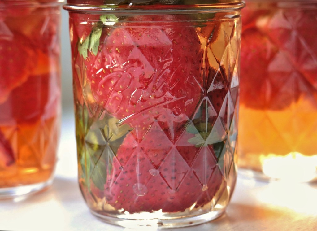 Pickled Strawberries