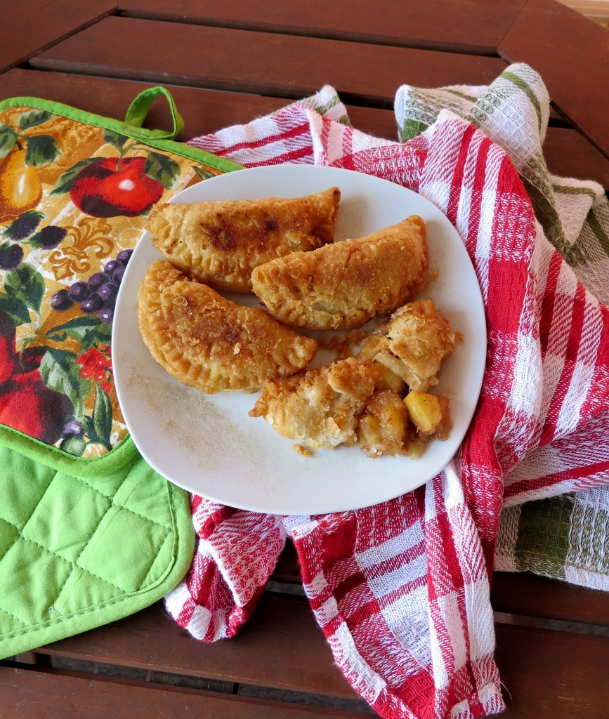Fried Apple Pies table