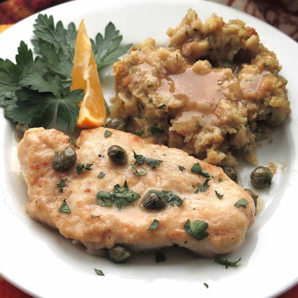 Meyer Lemon Chicken Picatta