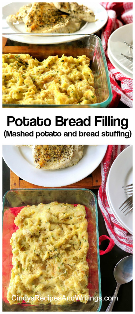 Potato Bread Filling