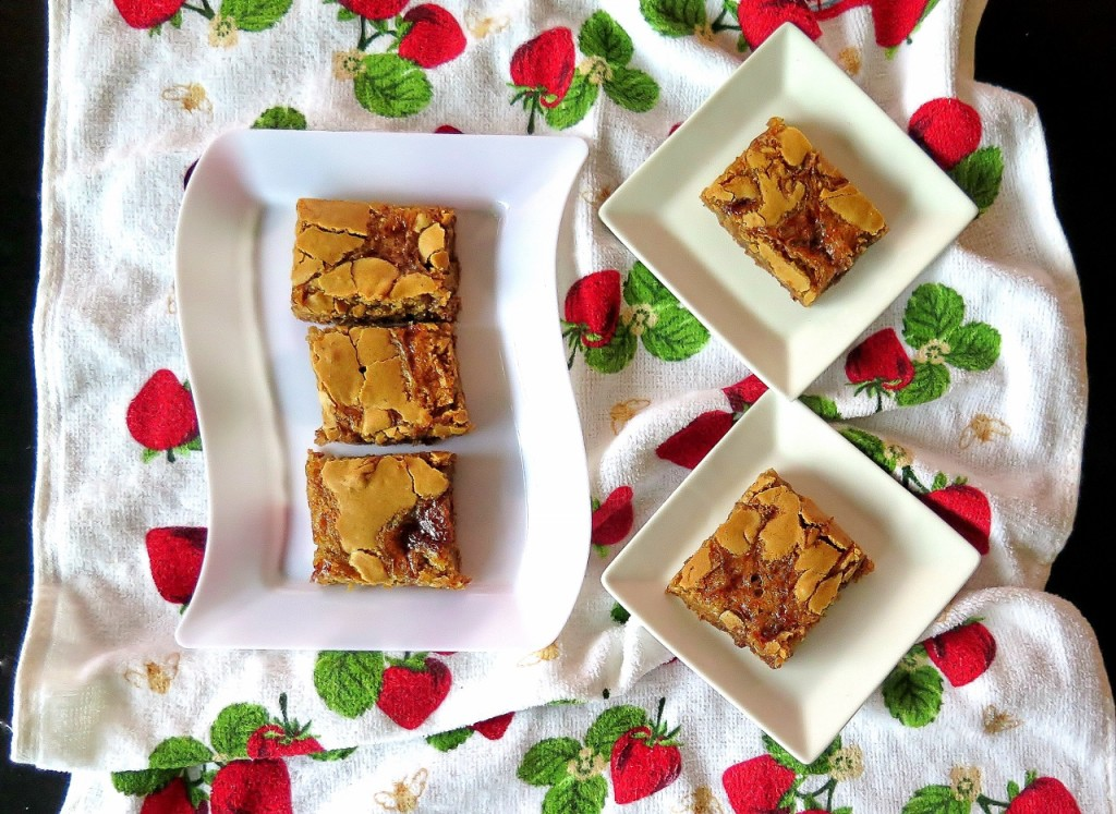 Double Strawberry Hazelnut Cookie Bars