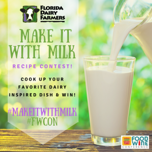 florida dairy contest 2017 #makeitwithMilk #FWcon