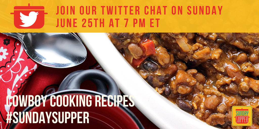 Twitter Chat Cowboy Cooking
