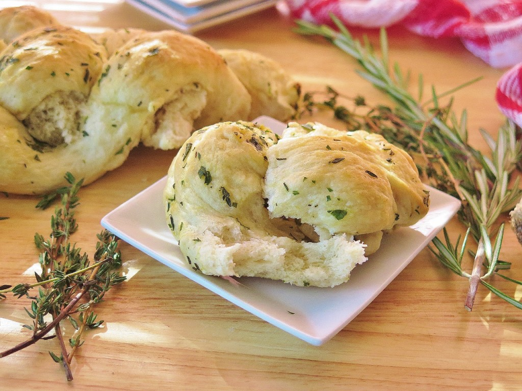 Artisan Herb Bread Braid