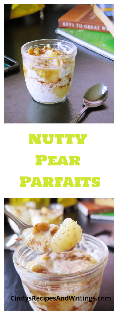 Nutty Pear Parfaits