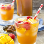 tea round up Raspberry Mango Honey Ice Tea