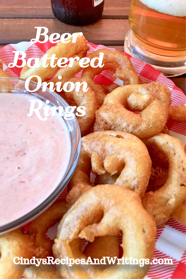 Spicy Battered Onion Rings
