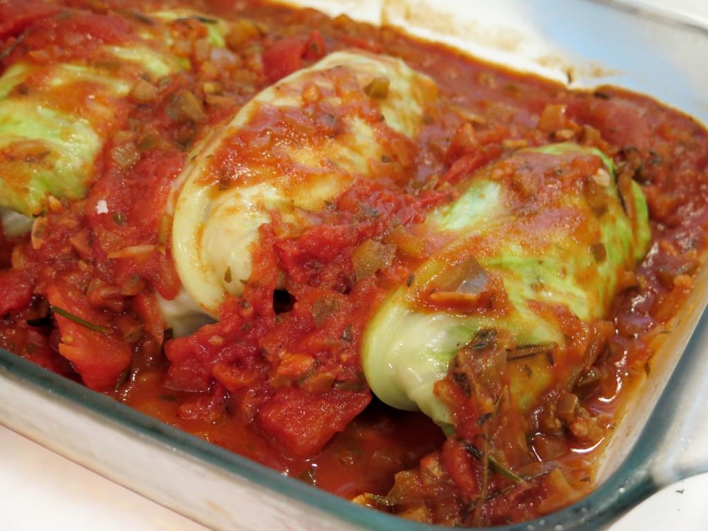 Pigs In A Blanket Stuffed Cabbage Recipe Blog Dandk