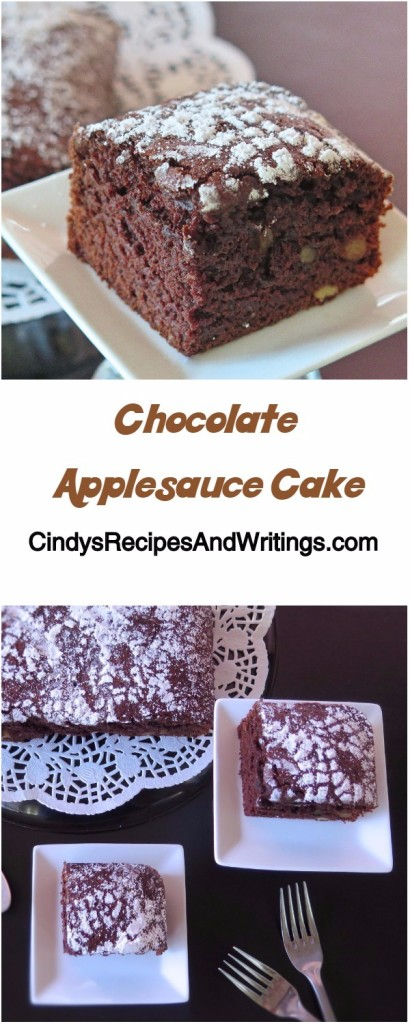 chocolate applesauce cake chocolate applesauce cake choctoberfest ad madewithrodelle 2806